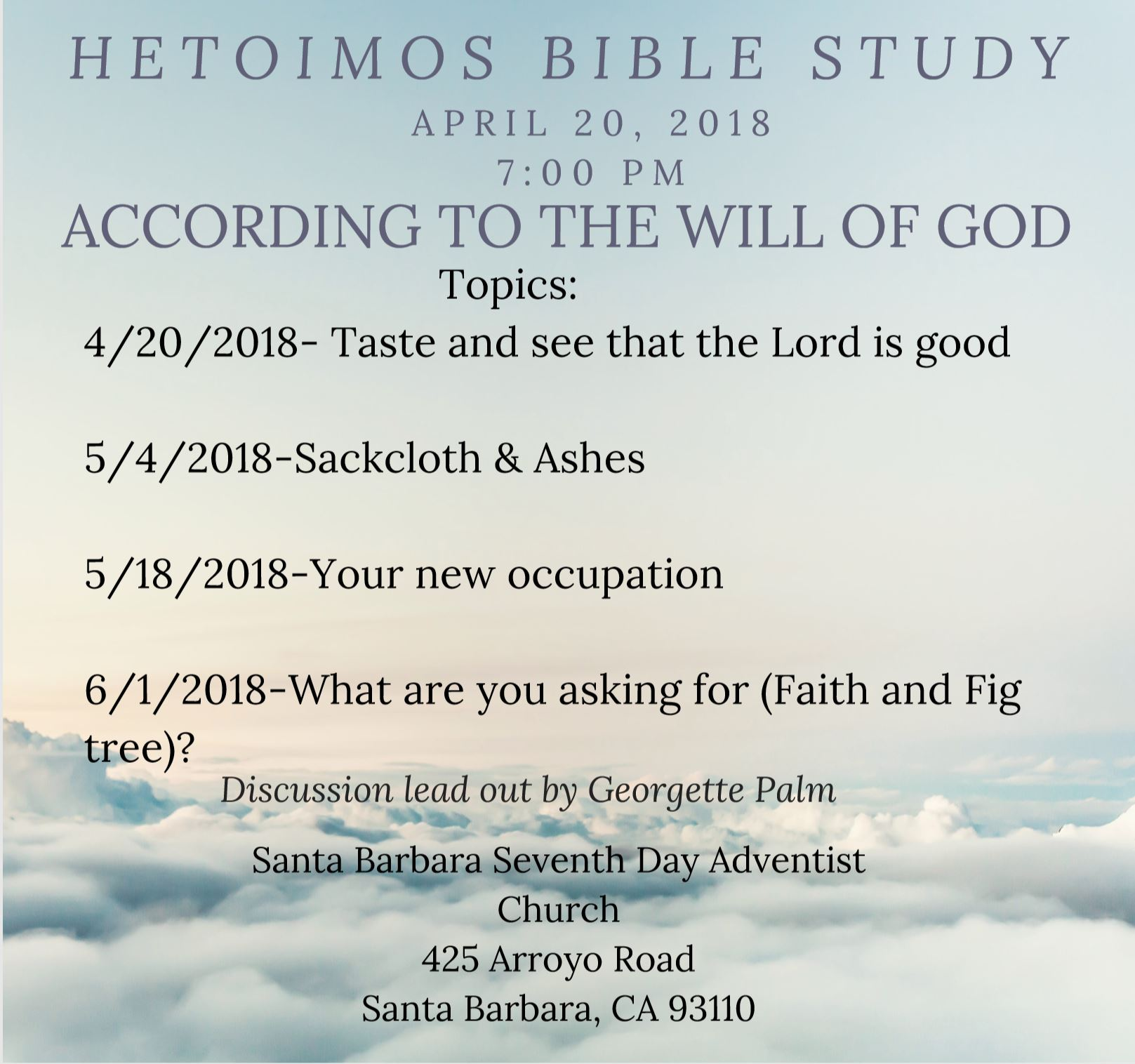 Hetoimos Bible Study Group