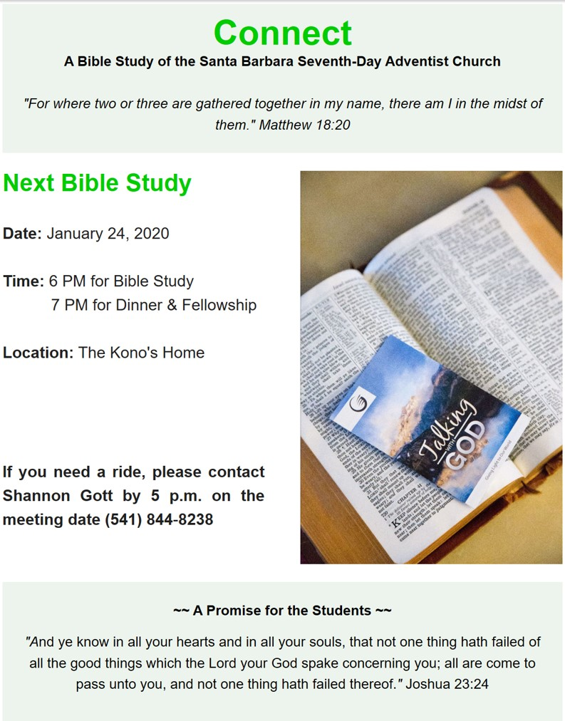 Connect Bible Study