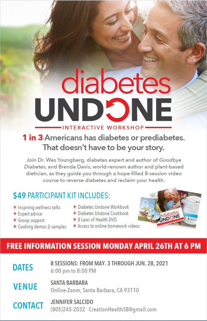 Diabetes Undone - Interactive Workshop