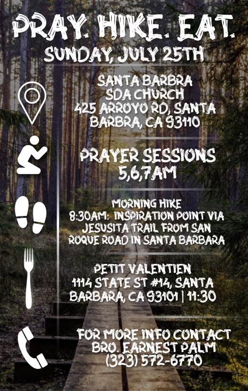 Sunday Morning - Pray.Hike.Eat