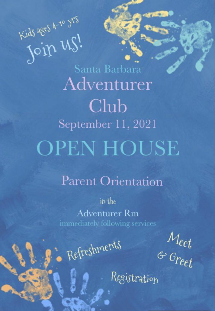 Adventurer Club - Open House