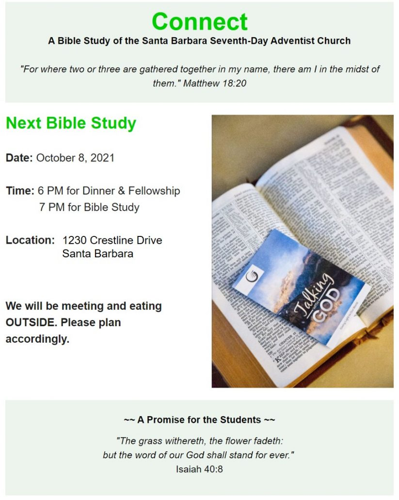 Connect Bible Study Ministry